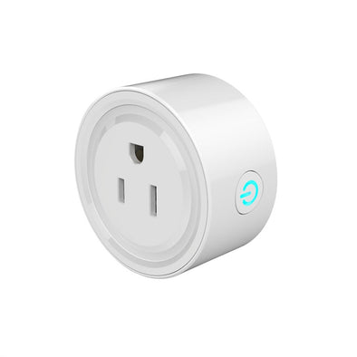 Smart Outlet Plug Wifi Smart Socket Outlet Mini US Plug Timer Socket Works with Echo Alexa