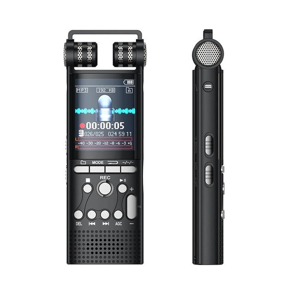 SHZONS 8GB Professional Recorder Zero Noise Reduction Voice Recording Hifi Mp3  HiFi Sound Quality Playback