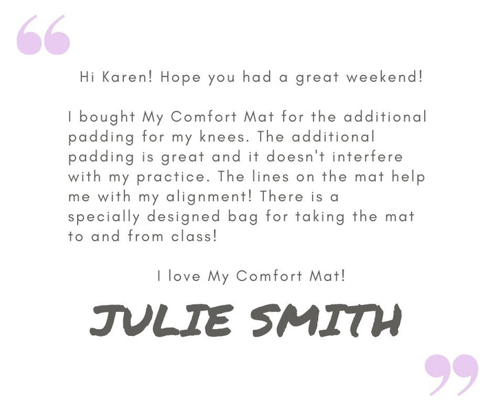 Our friend Julie Smith has something to say!