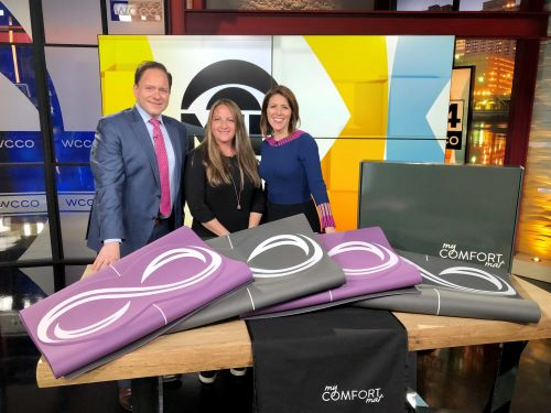 WCCO-interview My Comfort Mat
