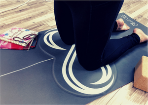 Cushioned yoga mat