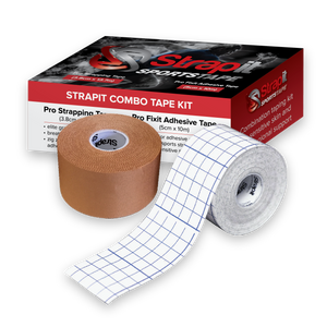 GRIPIT / STRAPIT COMBO PACK, PRO STRAPPING KIT, SPORTSTAPE AND FIXIT COVER ROLL