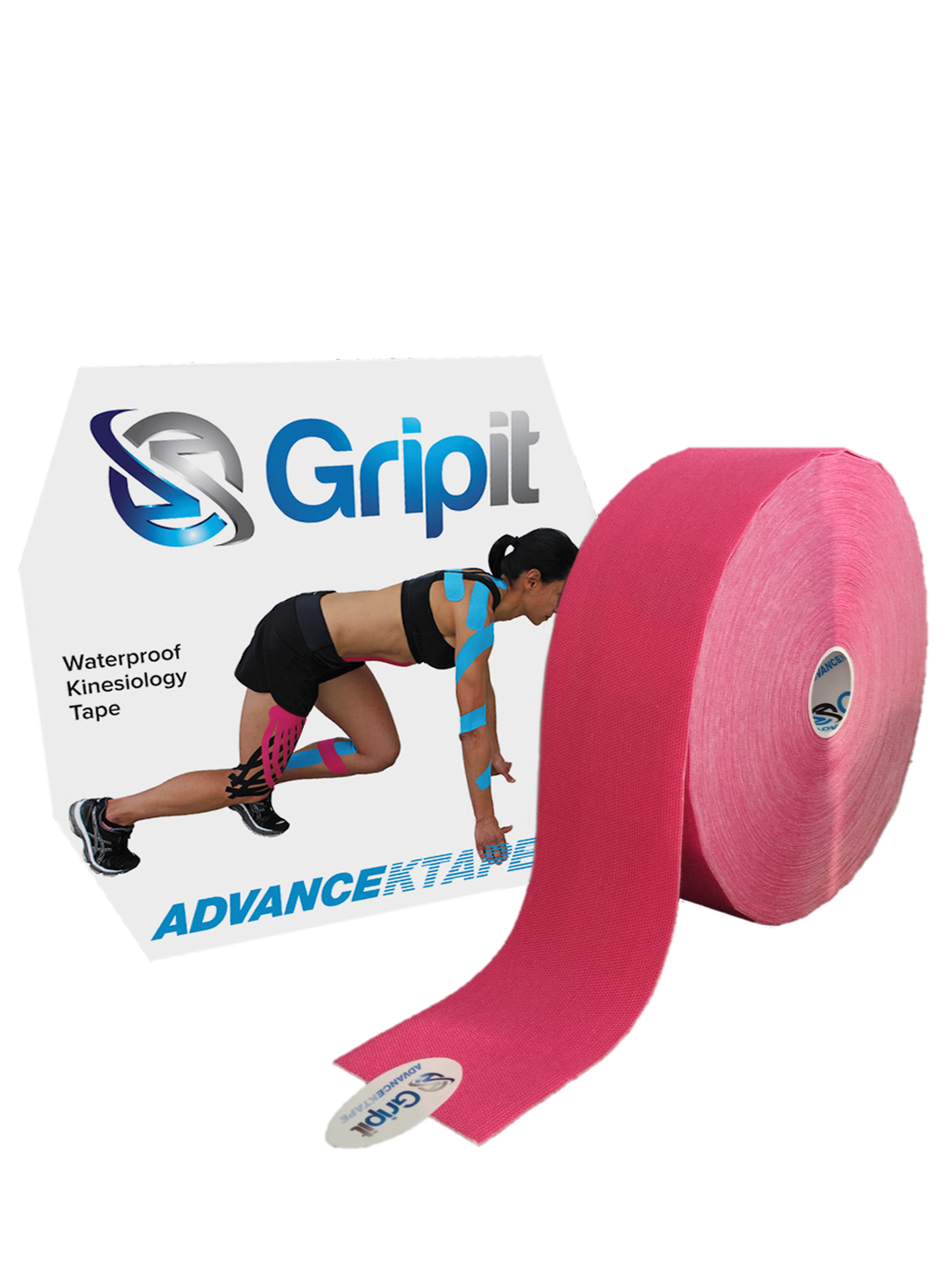 GRIPIT ADVANCE WATERPROOF KINESIOLOGY TAPE - JUMBO ROLL - 2