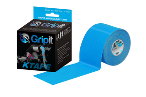 "GRIPIT ORIGINAL KINESIOLOGY TAPE - 2"" x 5.5 YDS. - BLUE"