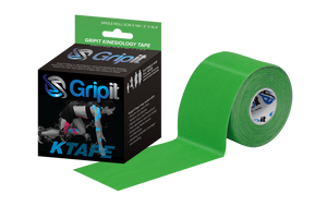 "GRIPIT ORIGINAL KINESIOLOGY TAPE - 2"" x 5.5 YDS. - GREEN"