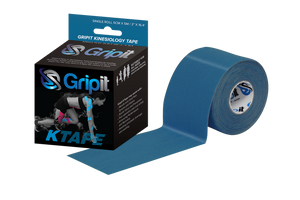 "GRIPIT ORIGINAL KTAPE - 2"" x 5.5 YDS. - ROYAL NAVY BLUE"