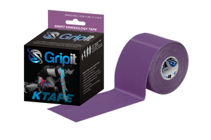 "GRIPIT ORIGINAL KTAPE - 2"" x  5.5 YDS. - PURPLE"