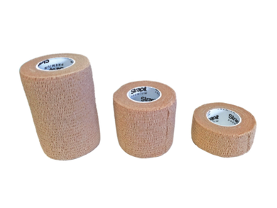 Easyrip cohesive bandage - Latex FREE various sizes