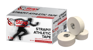 "Strapit ELITE Athletic Tape - 1"" x 15 YARDS (BOX OF 48)"