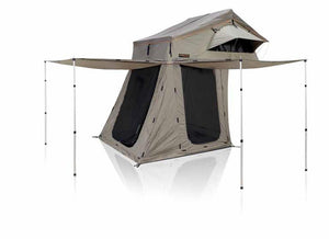 High View 1600˚ Rooftop Tent Bed with Annex - No Huddle Life