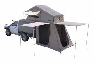 Panorama 2-Person Rooftop Tent Bed with Annex - No Huddle Life