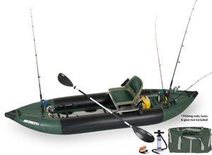 350FX Inflatable Fishing Boat - No Huddle Life
