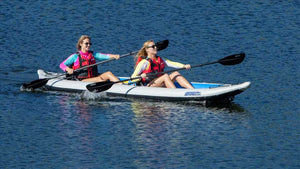 FastTrack™ Inflatable 3-Seat Fishing Kayak - No Huddle Life