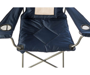 Padded Chair with Mesh Back - No Huddle Life