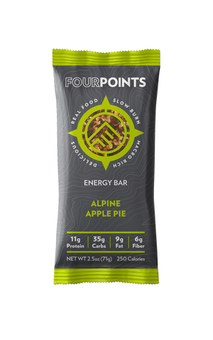 Alpine Apple Energy Bar (Box of 12) - No Huddle Life