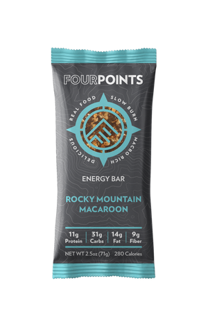 Rocky Mountain Macaroon Energy Bar (Box of 12) - No Huddle Life