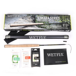Komodo Creek Tenkara 8 ft. Fly Fishing Package - No Huddle Life