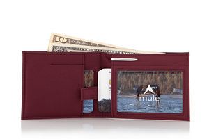 Lookout Wallet (Leather) - No Huddle Life