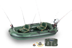 Stealth Stalker 10 Inflatable Fishing Boat - No Huddle Life