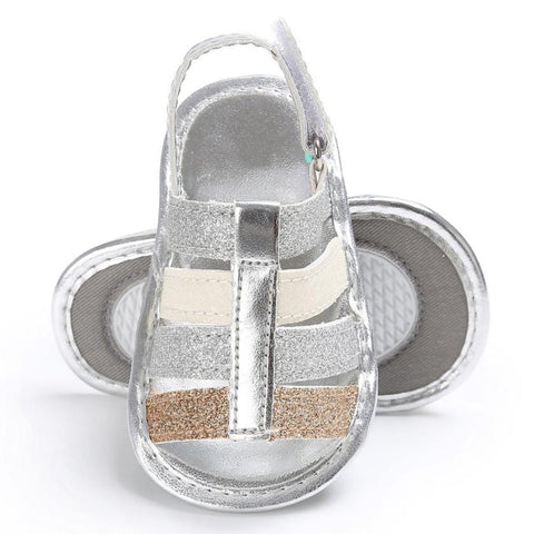 Mixed Metals Sandal