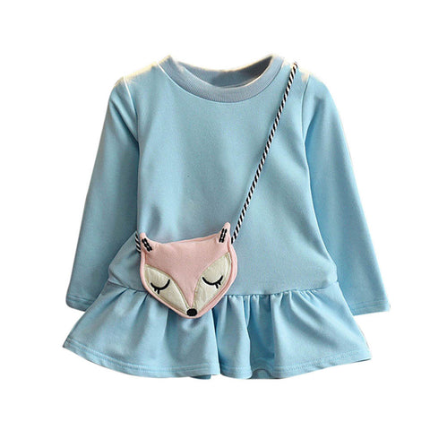 Big Girls Princess Fox Dress