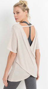 Open Back Athletic Top