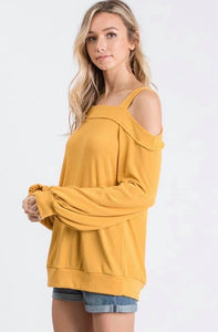 Open Shoulder - Yellow