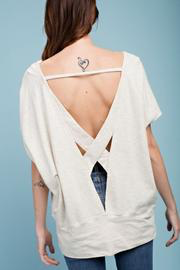 Open Back - Light Grey/Cream