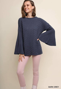 Dramatic Bell Sleeve Sweater