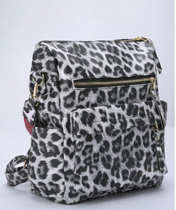 Guitar Strap Bag - Gray Leopard