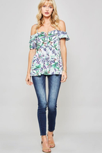 Tropical Spaghetti Strap Top