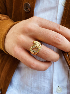 Cheval Golden Ring Hombre