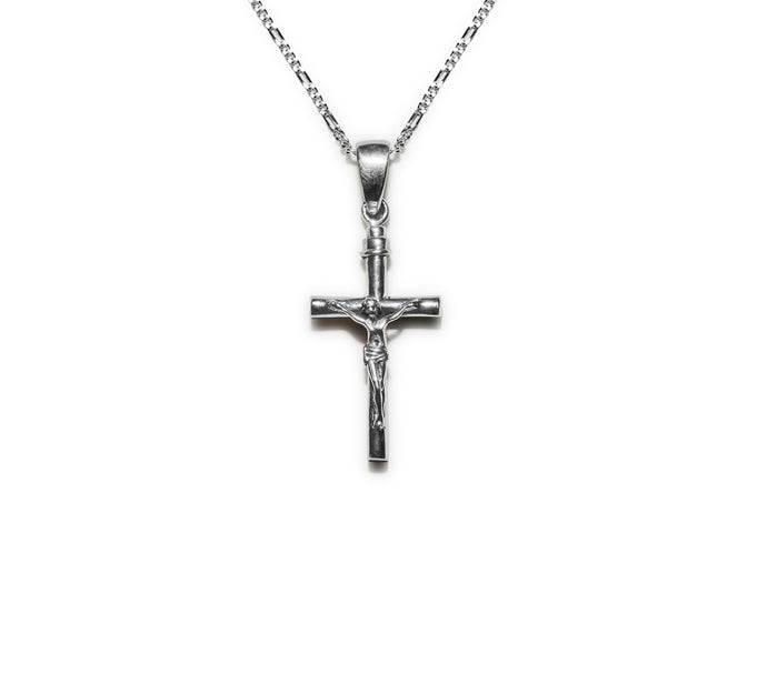 Chris Cross Necklace - SIlver