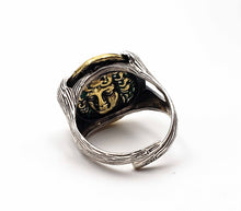 Horse Seal Ring Homme