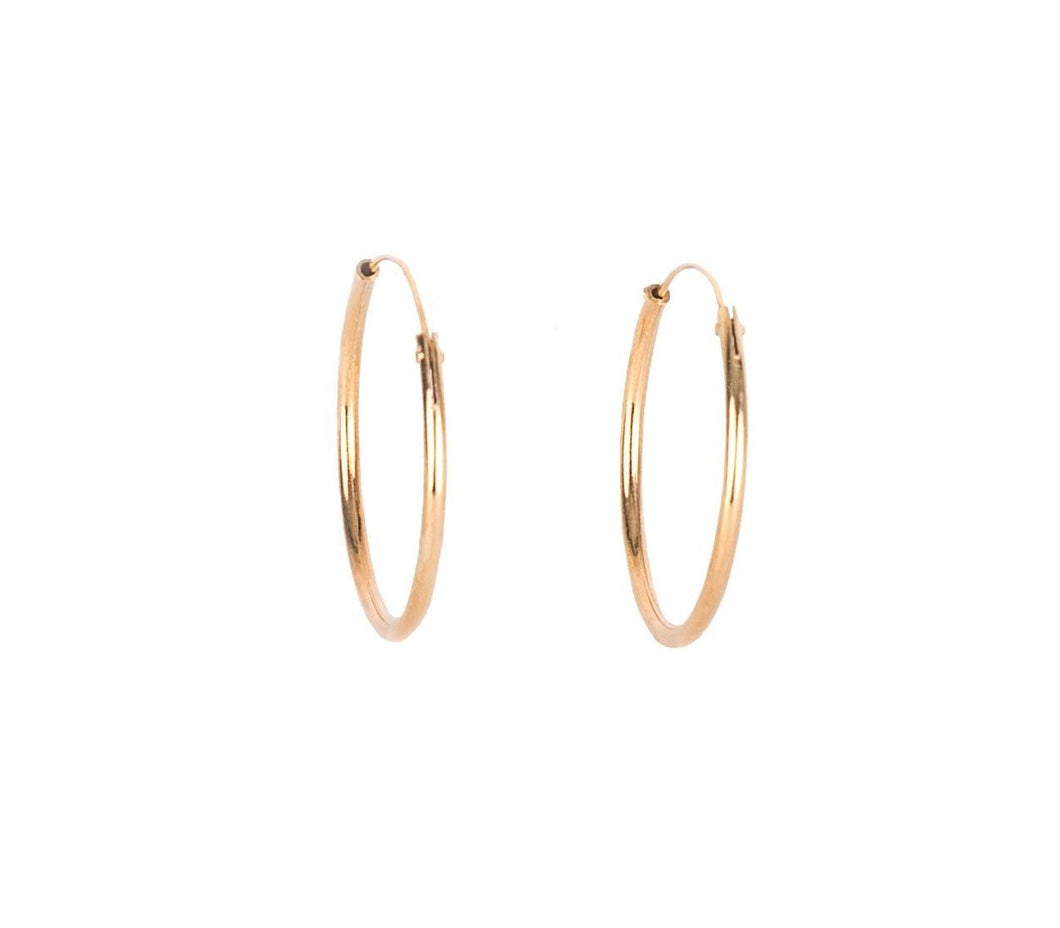 Ring Earrings - Gold