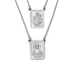 Scapular Necklace Homme