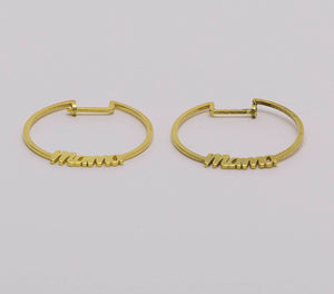 Mother Earring - Gold