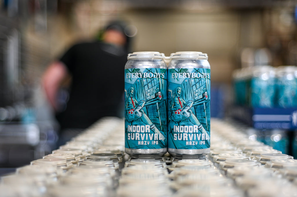 Meet your new Zoom call companion: Indoor Survival Hazy IPA