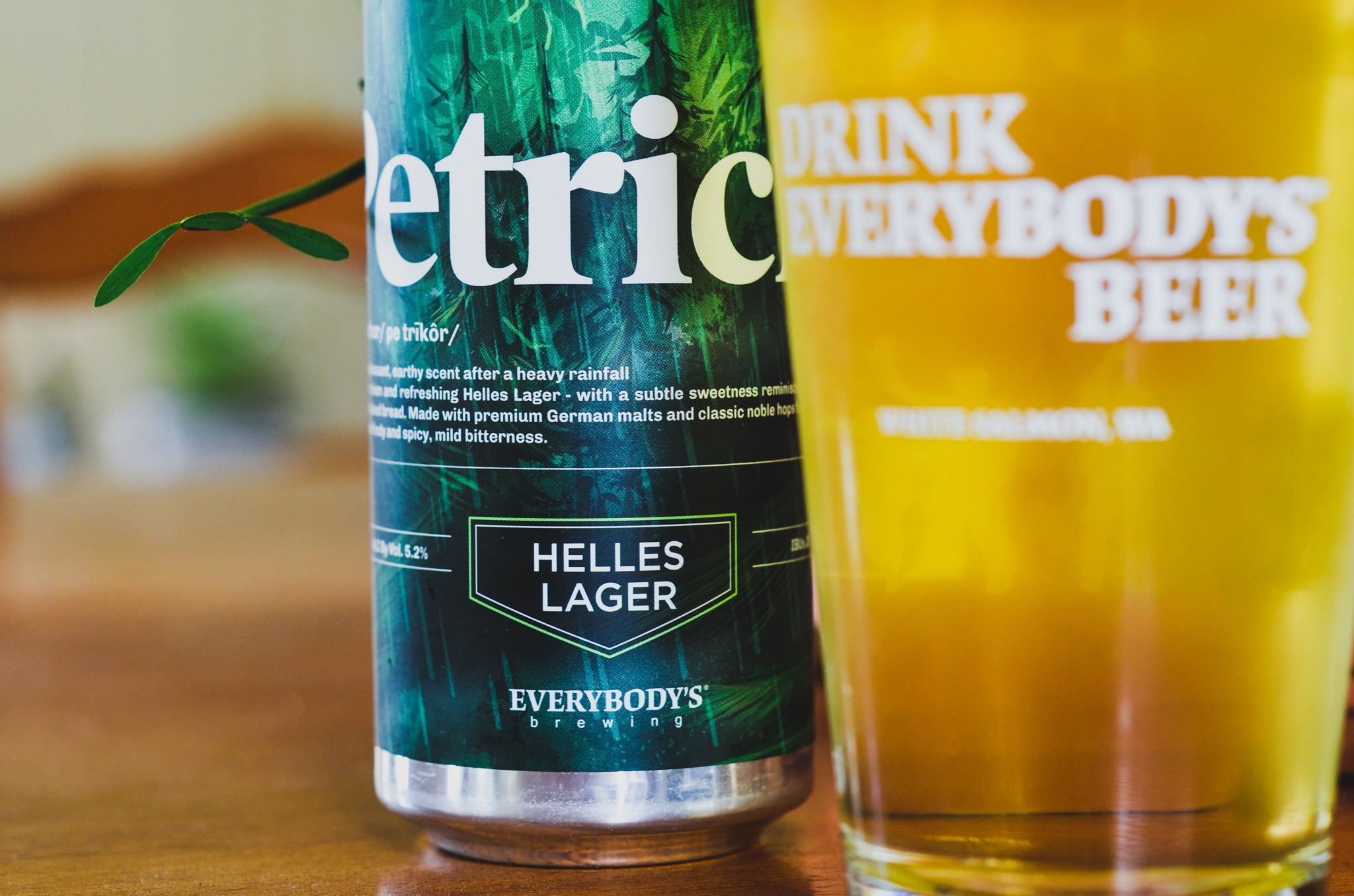 Everybody's Brewing Petrichor Helles Lager