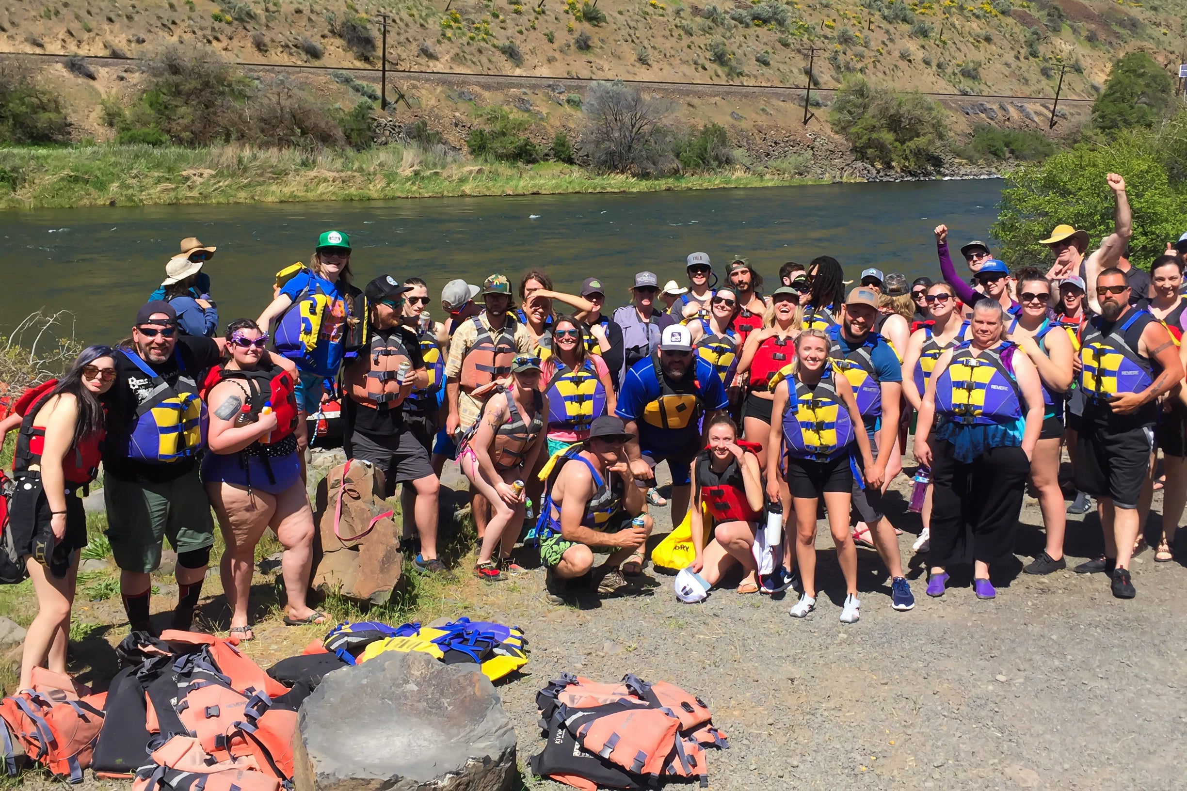 Annual Everybody's Employee Raft Trip