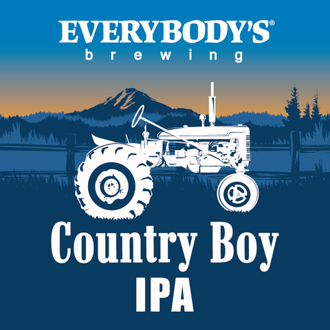 Country Boy IPA Keg