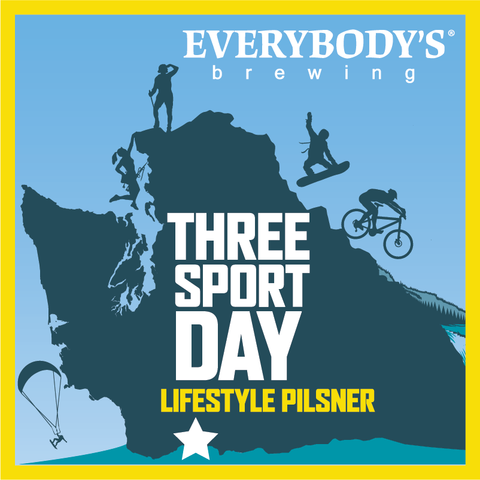 Three Sport Day Lifestyle Pilsner