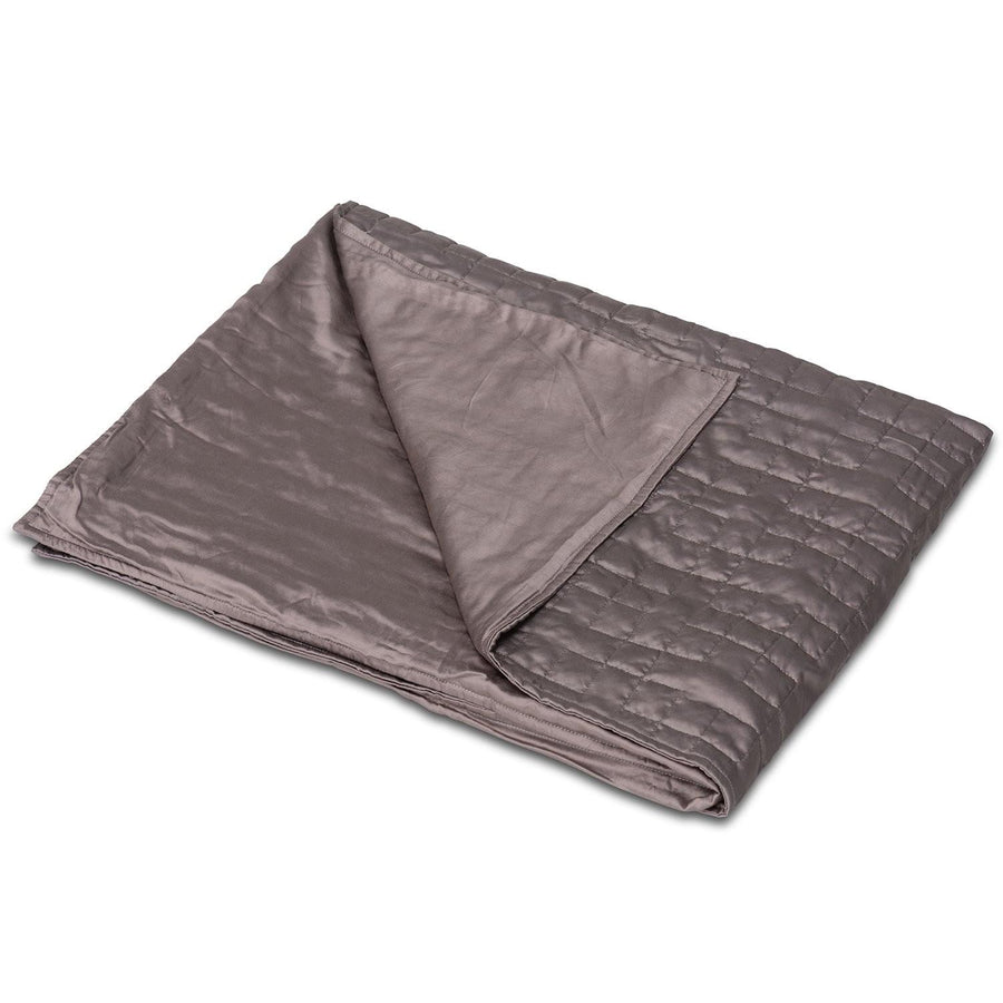 Cooling organic natural bamboo fabric cover for weighted blanket