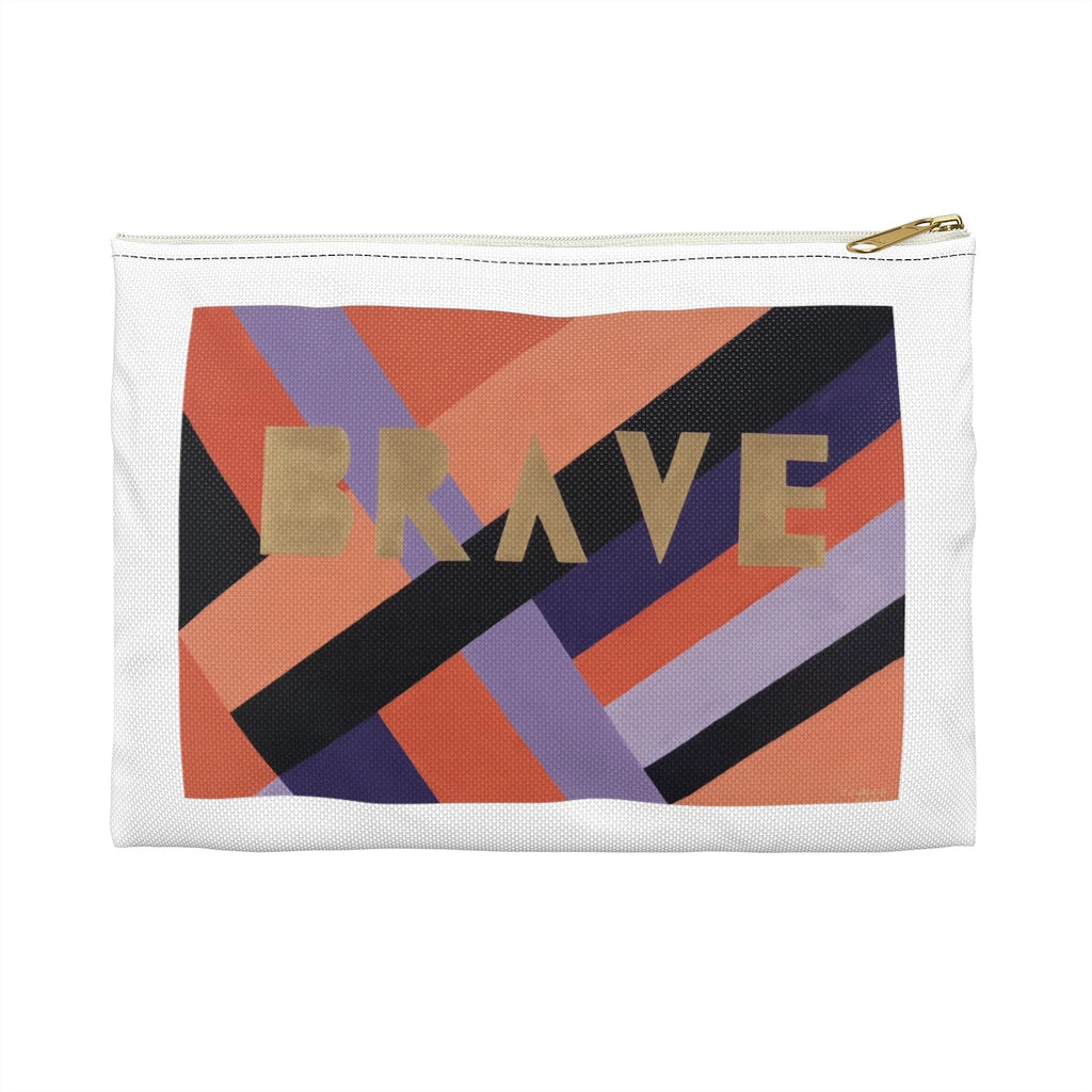 Brave Accessory Pouch - Tara Price Art