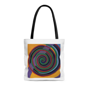 Swirls of Life Tote Bag - Tara Price Art