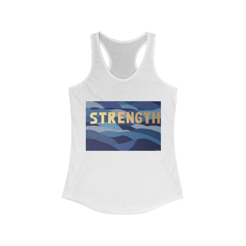 Strength Women's Ideal Racerback Tank