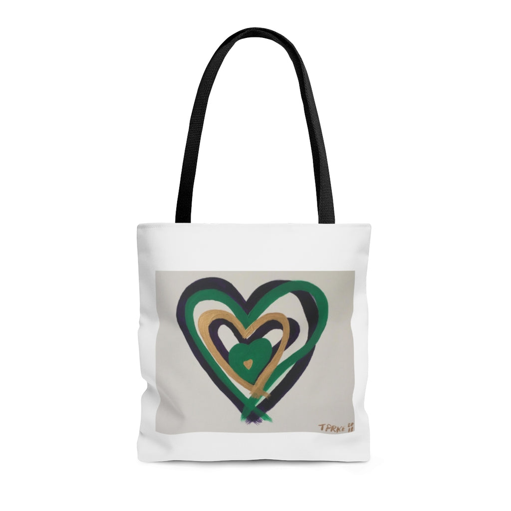 Heart Tote Bag - Tara Price Art
