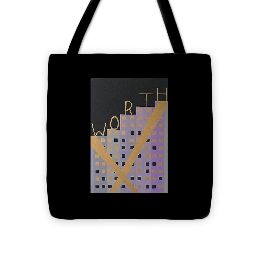 Worth - Tote Bag - Tara Price Art