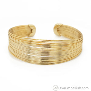 Golden Stack Cuff