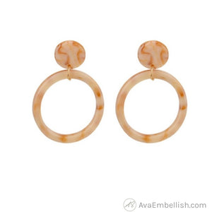 African Safari Hoops (Gold Finishes)